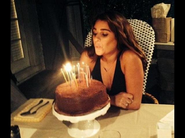 Lea Michele celebra sus 28 años llena de éxitos