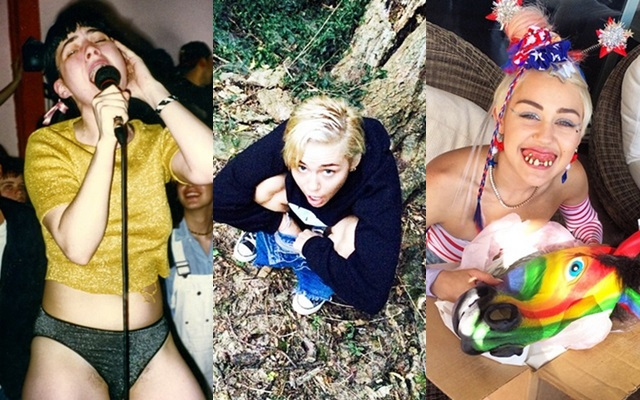 Las fotos más guarras de Miley Cyrus en Instagram
