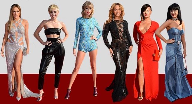 Los mejores modelos de los premios MTV