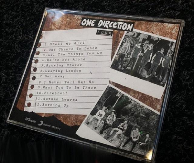 Lista completa de las canciones de Four