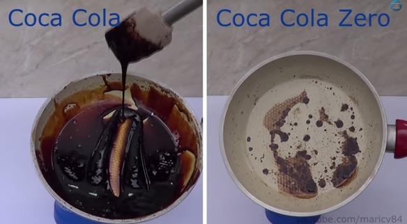 ¿Cuál es más sana, la Coca-Cola o la Coca-Cola Zero?