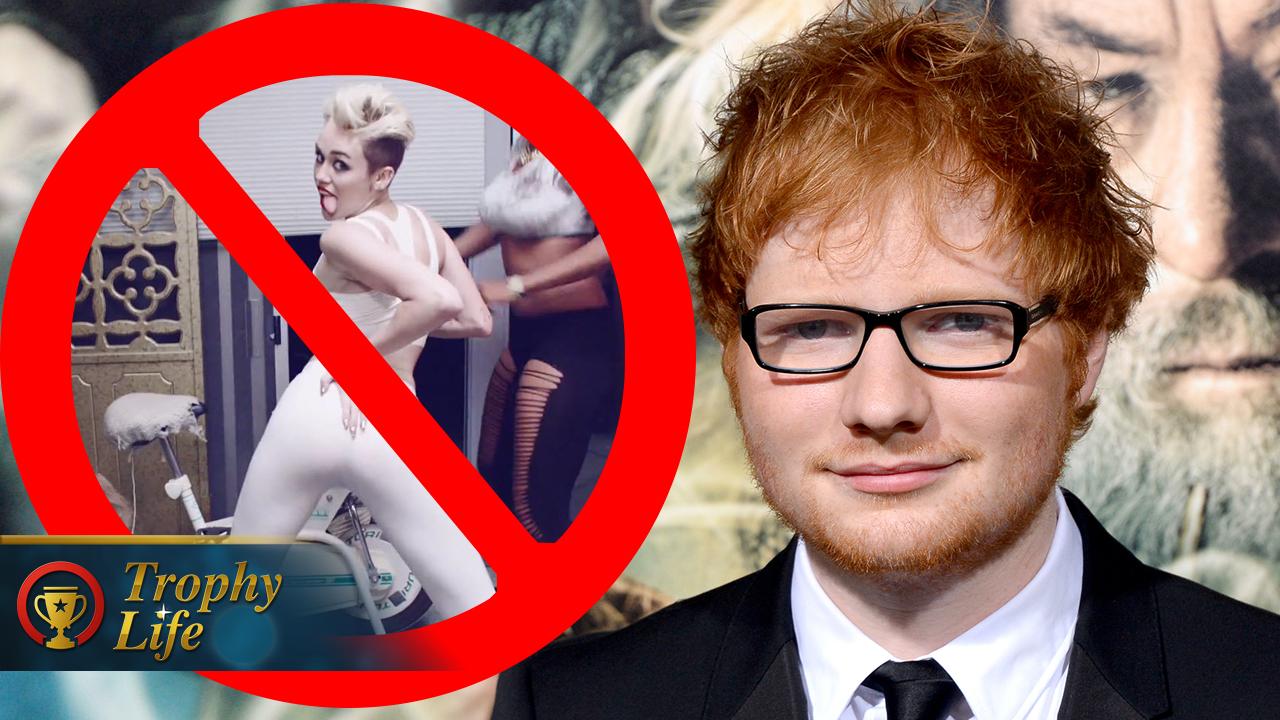 ¿Llego la paz entre Ed Sheeran y Miley Cyrus?