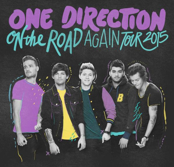 One Direction añaden más fechas para su nueva gira, 'On The Road Again'