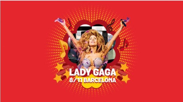 ¡Chupa Chups te lleva al concierto de Lady Gaga! #notireselpalo