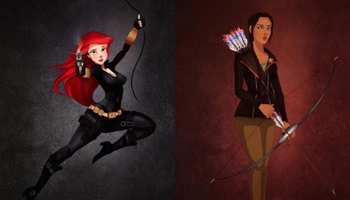 Las princesas Disney disfrazadas para Halloween