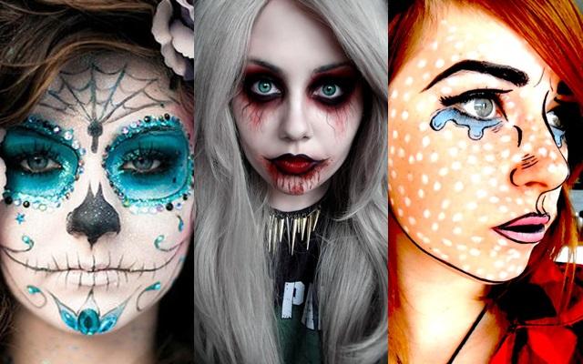 Cinco maquillajes increíbles para chicas jóvenes para Halloween