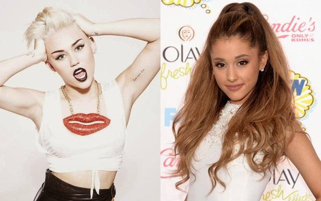 Miley Cyrus ayudó a Ariana Grande con las críticas