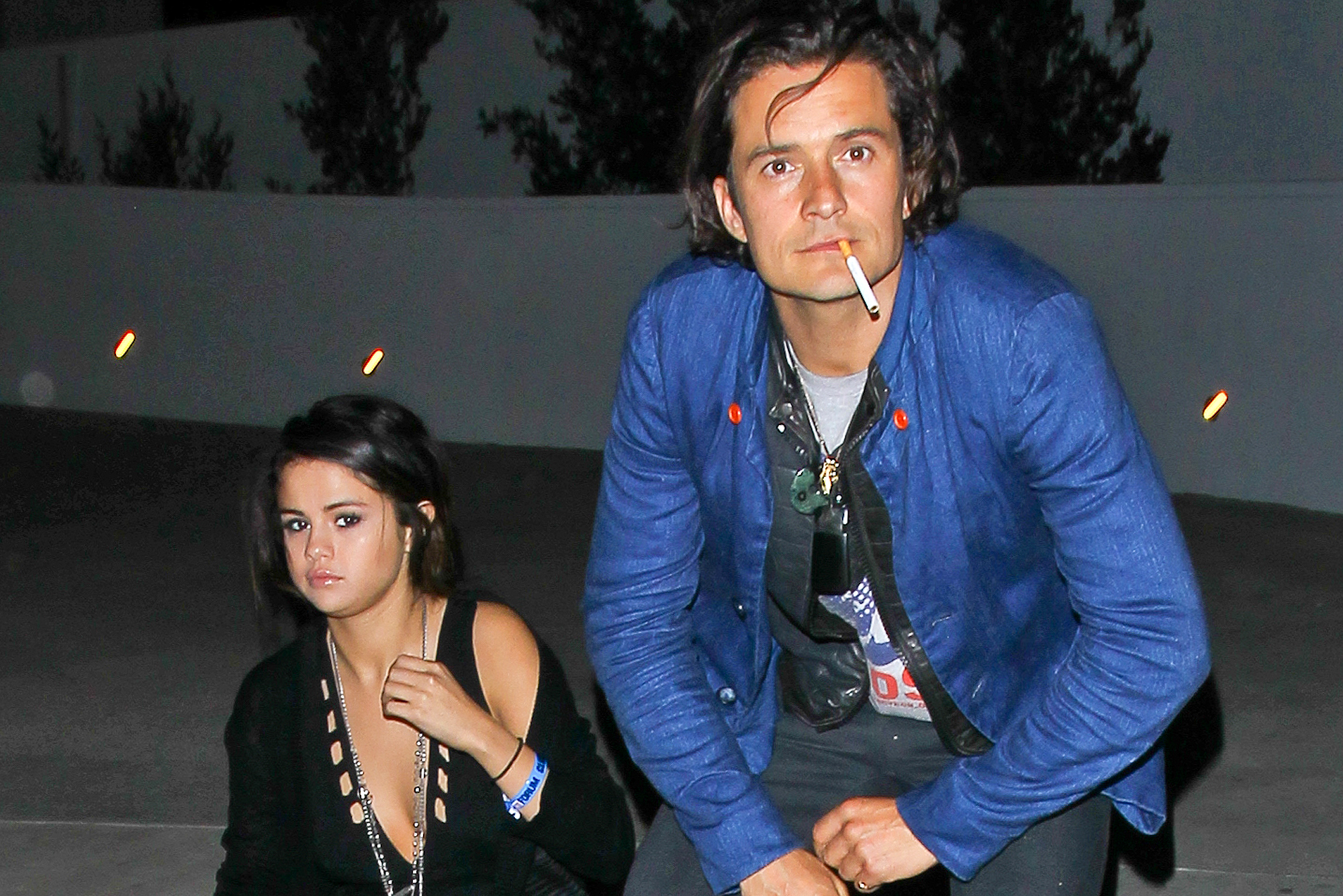 Orlando Bloom niega su relación con Selena Gomez