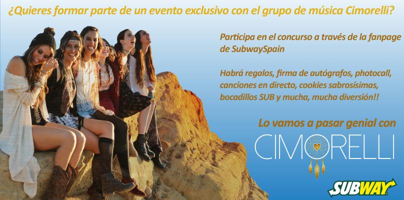 ¡Participa en el sorteo de 20 entradas VIP para conocer a Cimorelli!