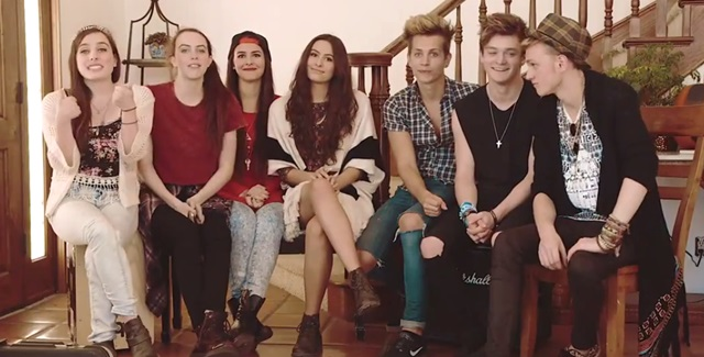 The Vamps y Cimorelli graban juntos una canción