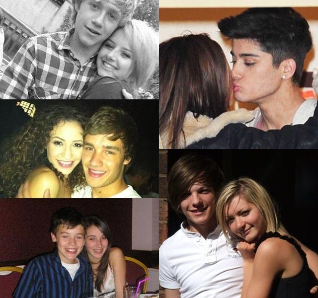 ¿Quiénes son las ex novias de One Direction?