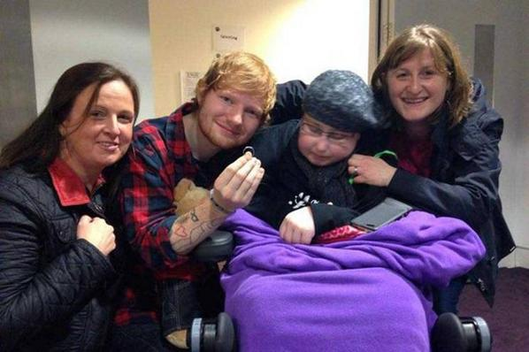 ¡Ed Sheeran se casa con una fan!