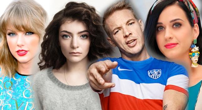 Lorde definde a Taylor Swift de los ataques de Diplo