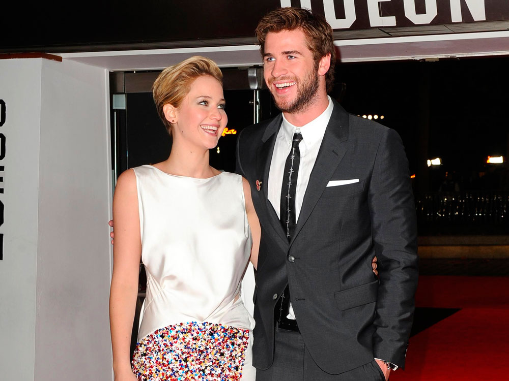 ¿Liam Hemsworth y Jennifer Lawrence son novios?