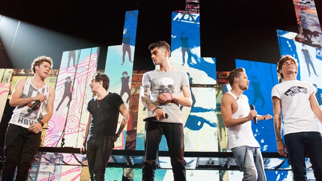 One Direction rompe récord en Billboard con su cuarto disco