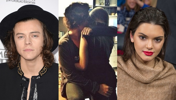 Harry Styles y Kendall Jenner, ¿besándose?