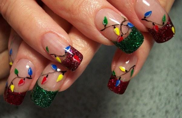 ¿Cómo decorarse las uñas para estas navidades?