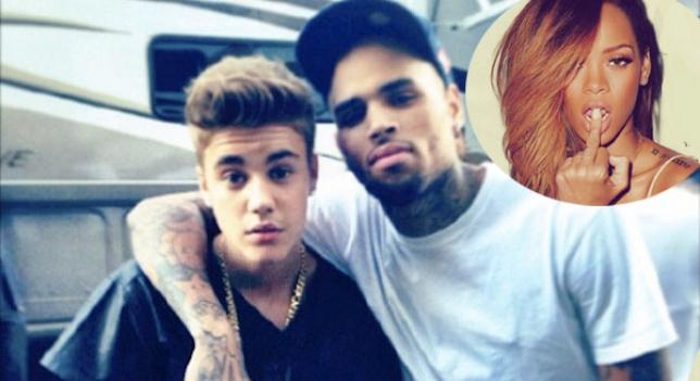 ¿Por qué se ha enfadado Chris Brown con Justin Bieber?