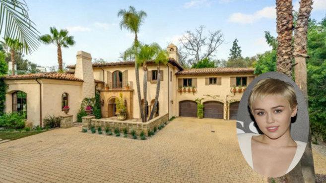 ¿Por cuanto vende su casa Miley Cyrus?