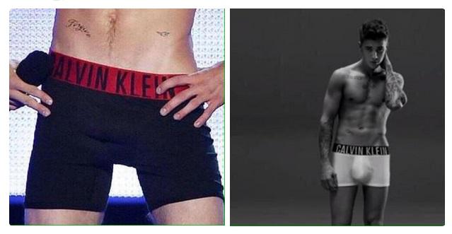 Acusan a Calvin Klein de usar photoshop en las nuevas fotos de Justin Bieber desnudo