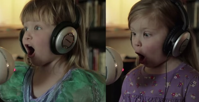 """¡No te pierdas el cover de """"Let it go"""" de las gemelas, Maddie y Zoe!"""