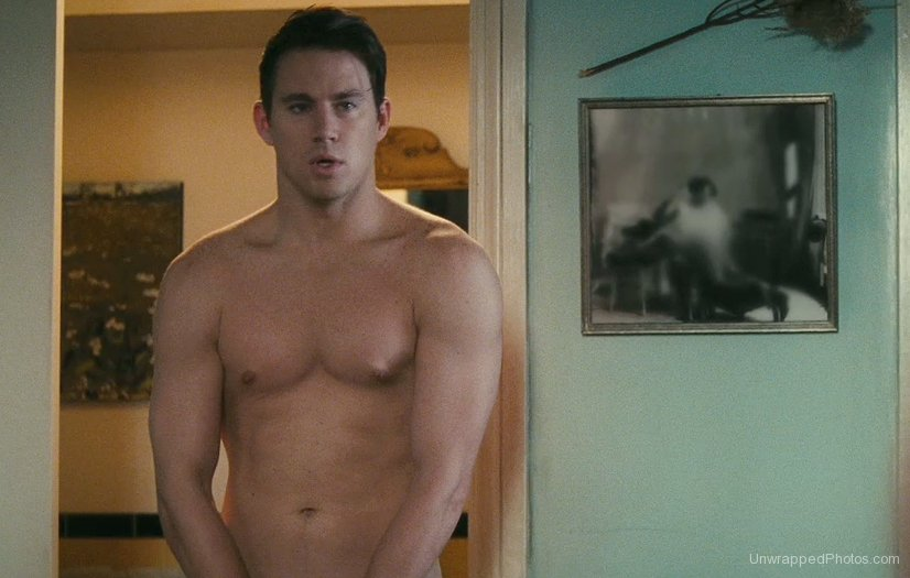 Channing Tatum desnudo para su nueva película