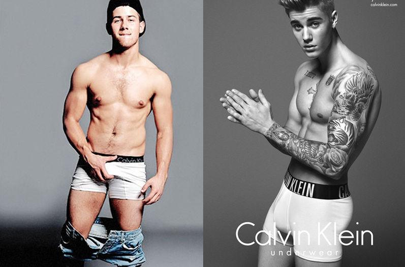 ¿Qué desnudo estuvo mejor, el de Nick Jonas o el de Justin Bieber?