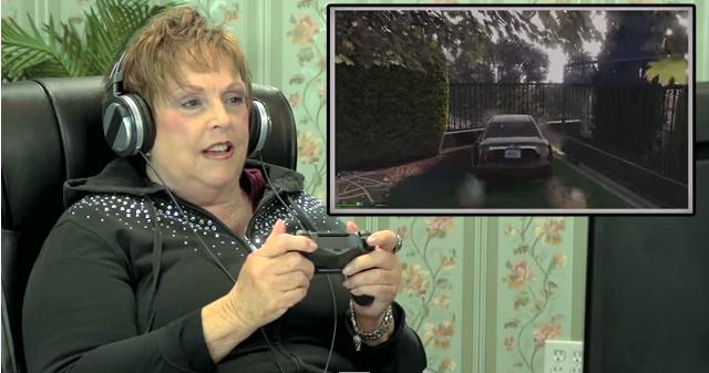 Así reacciona la gente de la tercera edad al probar por primera vez el Grand Theft Auto V