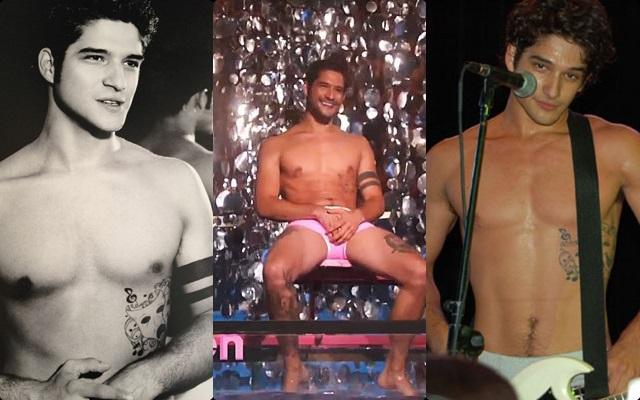 Las mejores fotos de Tyler Posey desnudo