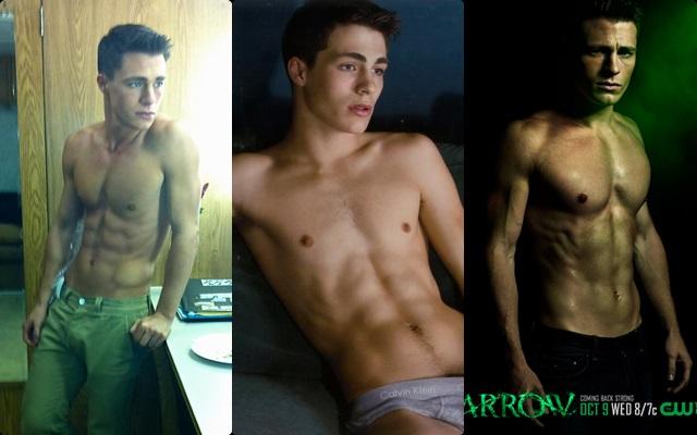 Las mejores fotos de Colton Haynes desnudo