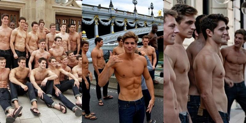 Las mejores fotos de modelos de Hollister desnudos