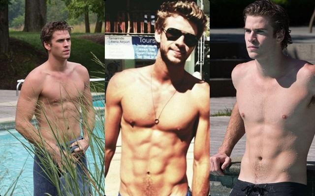 Las mejores fotos de Liam Hemsworth desnudo