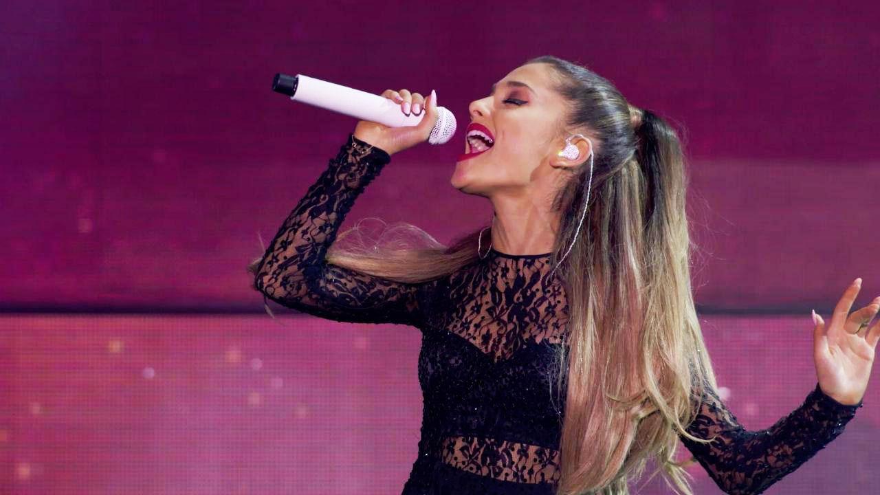 Ariana Grande casi muere en un concierto