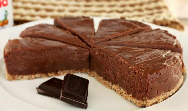¡Aprende a hacer tarta de Nutella sin necesitar un horno!