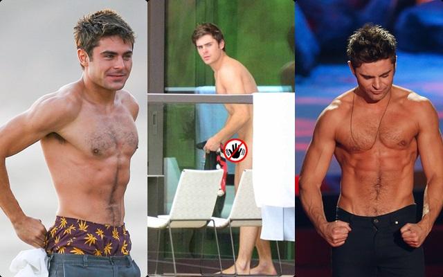 Las mejores fotos de Zac Efron desnudo