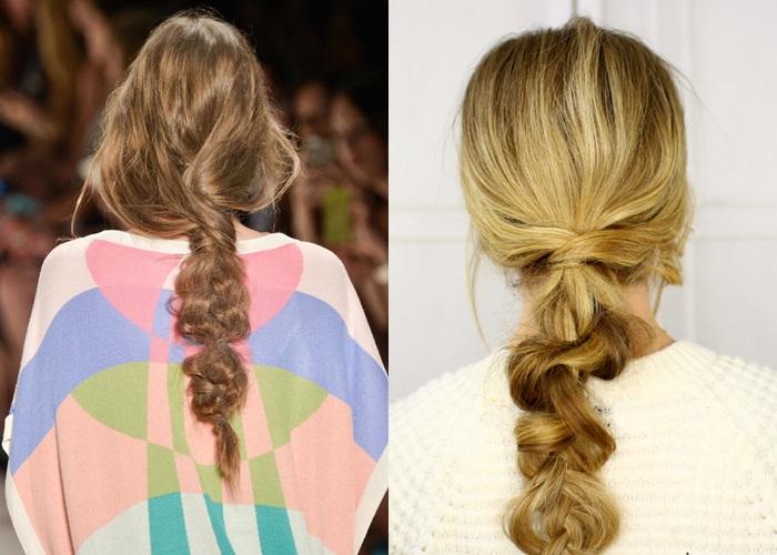 La 'desert braid', la nueva trenza de moda