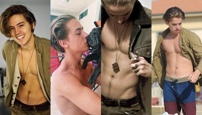 Las mejores fotos de Dylan y Cole Sprouse desnudos