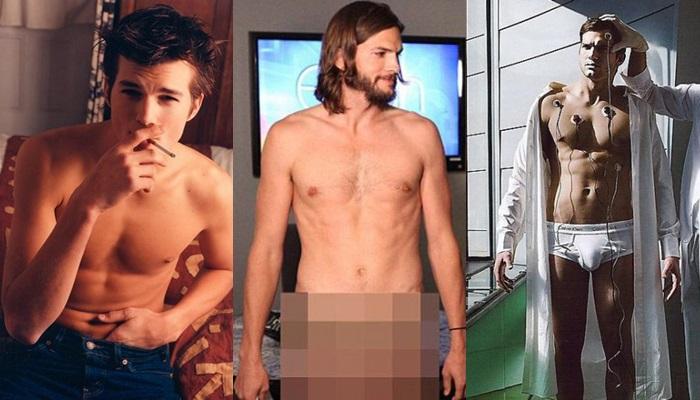 Las mejores fotos de Ashton Kutcher desnudo