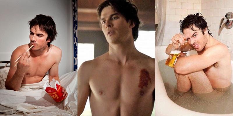 Las mejores fotos de Ian Somerhalder desnudo