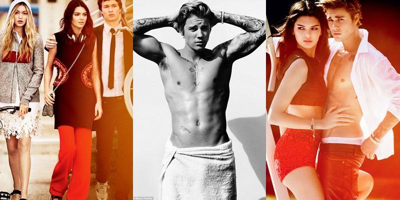 Justin Bieber, Ansel Elgort, Kendall Jenner y Gigi Hadid, juntos para la nueva sesión de Vogue