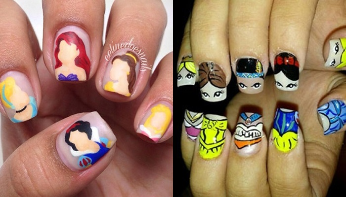 ¡Aprende a pintarte las uñas con motivos de princesas Disney!