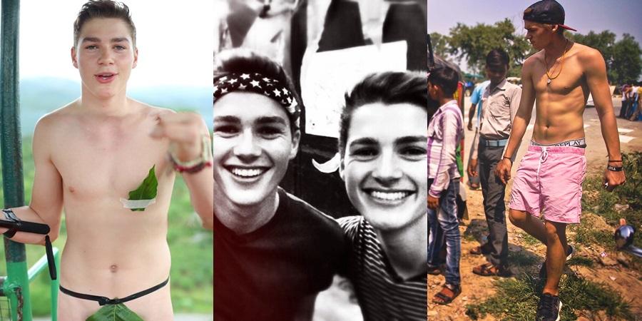 Las mejores fotos de los gemelos Harries desnudos