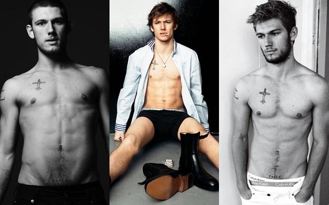 Las mejores fotos de Alex Pettyfer desnudo