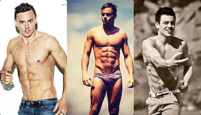 Las mejores fotos de Tom Daley desnudo