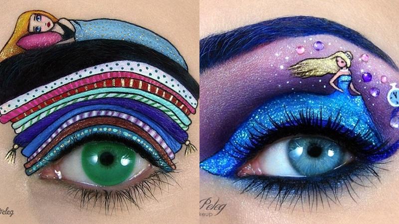 ¡Alucina con estos maquillajes de ojos con temática de fantasía!
