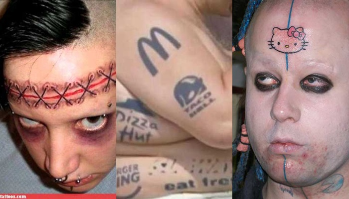 Los peores tatuajes de la historia