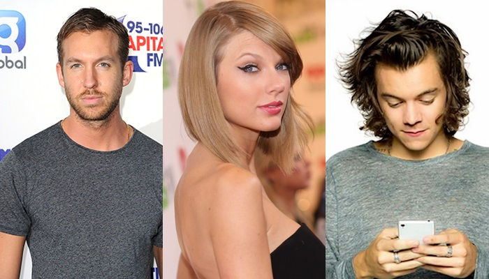 Calvin Harris prohíbe a Taylor Swift hablar con Harry Styles