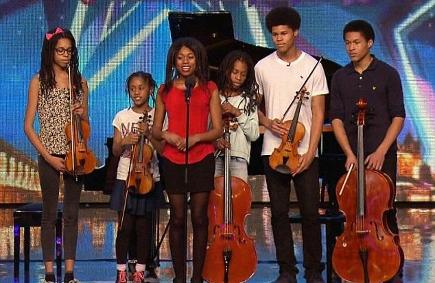Seis hermanos músicos dejan al jurado asombrado en Britain's Got Talent