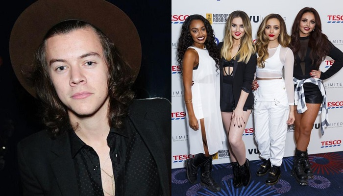 Fans de One Direction, muy enfadadas con Little Mix por no querer a Harry Styles