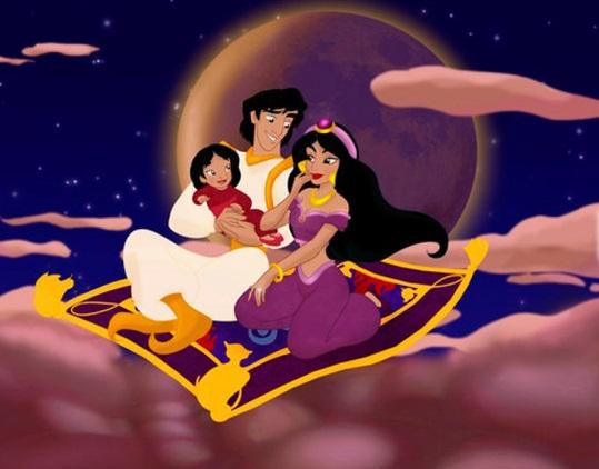 ¿Cómo serían las princesas Disney si fueran madres?